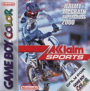 Jeremy McGrath Supercross 2000 sur GB