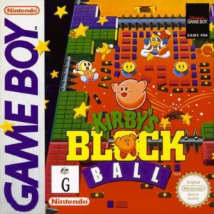 Kirby's Block Ball sur GB