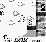 Le premier titre : Kirby's Dream Land