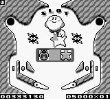 Kirby s'essaye au pinball
