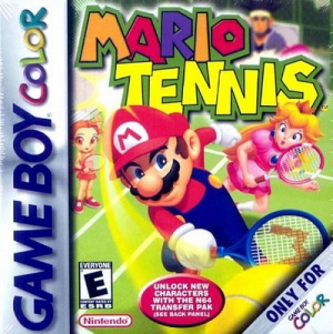 Mario Tennis sur GB