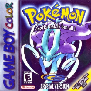 Pokémon Version Cristal sur GB