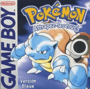 Pokémon Version Bleue sur GB