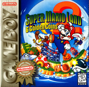 Super Mario Land 2 : 6 Golden Coins sur GB
