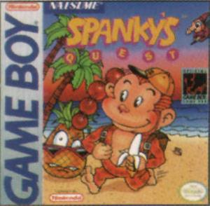 Spanky's Quest sur GB
