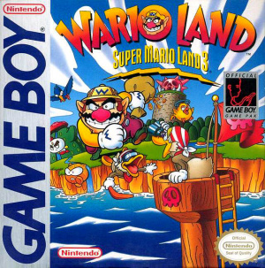 Wario Land : Super Mario Land 3 sur GB