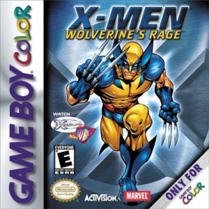x men wolverine 39 s rage sur gameboy. Black Bedroom Furniture Sets. Home Design Ideas