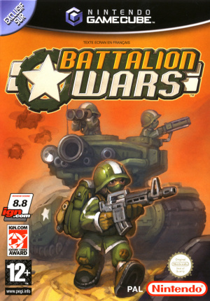 Battalion Wars sur NGC