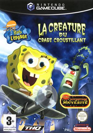 Bob l'Eponge : La Créature du Crabe Croustillant sur NGC