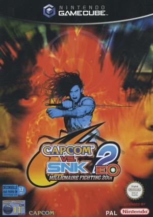 Capcom vs. SNK 2 EO : Millionaire Fighting 2001 sur NGC