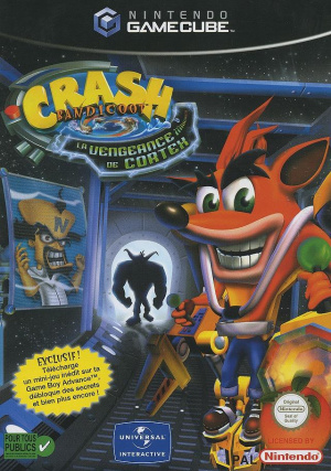 Crash Bandicoot : La Vengeance de Cortex sur NGC