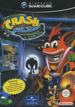 Crash Bandicoot : La Vengeance de Cortex sur NGC