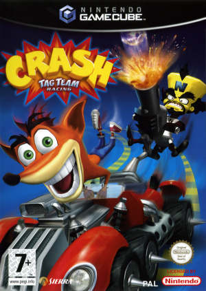 Crash Tag Team Racing sur NGC