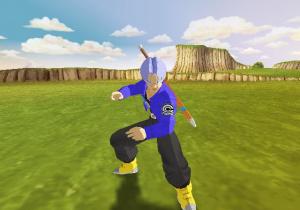 Aperçu de DBZ : Budokai sur GameCube