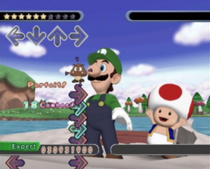 Dancing Stage : Mario Mix