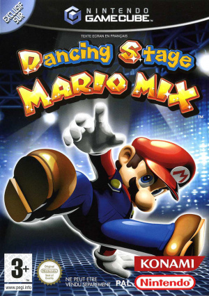 Dancing Stage : Mario Mix sur NGC