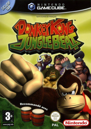 Donkey Kong Jungle Beat sur NGC