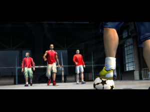 FIFA Street tape dans la ballon