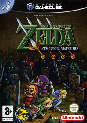 The Legend of Zelda : Four Swords Adventures sur NGC