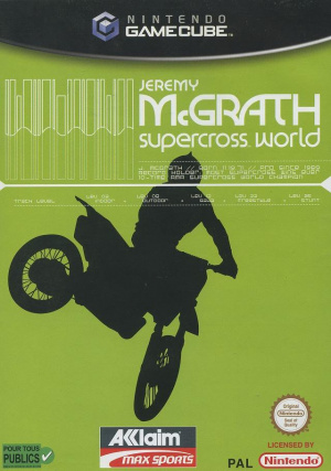 Jeremy McGrath Supercross World sur NGC