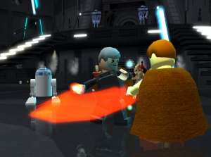 Lego Star Wars s'active sur GameCube