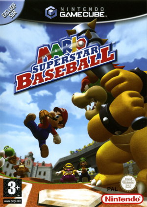 Mario Superstar Baseball sur NGC