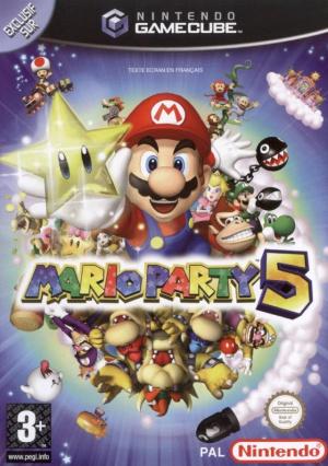 Mario Party 5 sur NGC