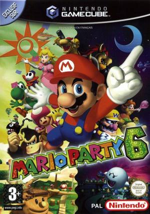 Mario Party 6 sur NGC