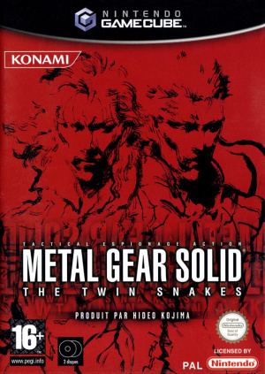 Metal Gear Solid : The Twin Snakes sur NGC