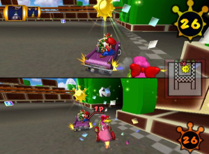 Mario Kart : Double Dash !! - En voiture, Simone !