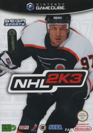 NHL 2K3 sur NGC
