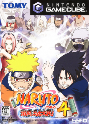 Naruto : Clash of Ninja 4 sur NGC