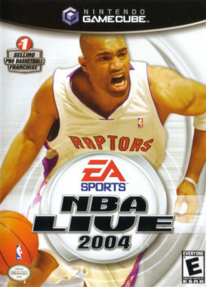 Jaquette de NBA Live 2004