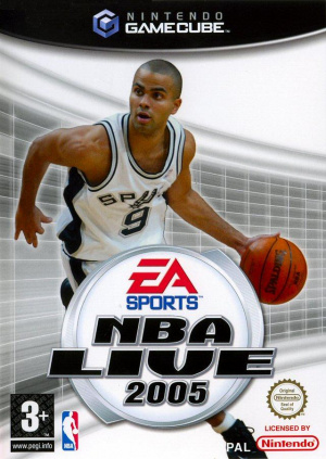 NBA Live 2005 sur NGC