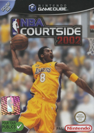 NBA Courtside 2002 sur NGC