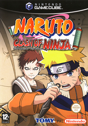 Naruto : Clash of Ninja - European Version sur NGC