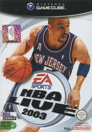 NBA Live 2003 sur NGC