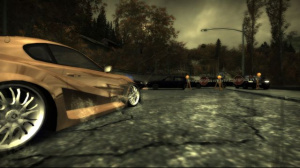 NFS Most Wanted illuminé