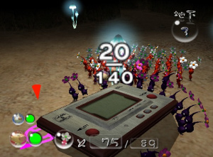 Les Pikmin jouent à la Game & Watch