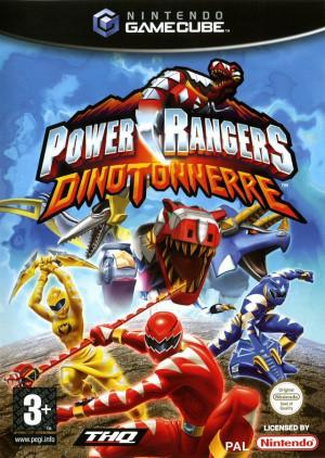 Power Rangers : Dino Tonnerre sur NGC