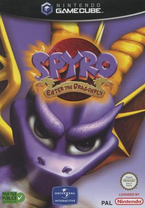 Spyro : Enter the Dragonfly sur NGC