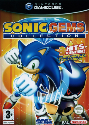 Sonic Gems Collection sur NGC