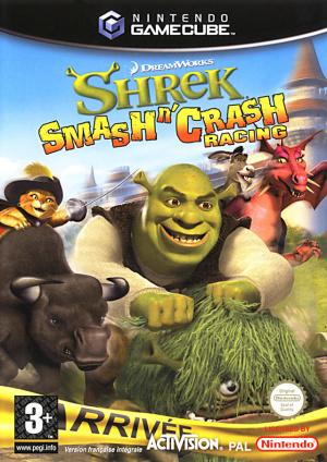 Shrek Smash n' Crash Racing sur NGC