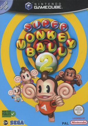 Super Monkey Ball 2 sur NGC