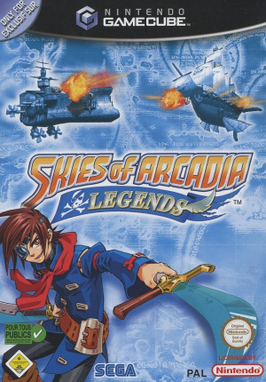 Skies of Arcadia Legends sur NGC