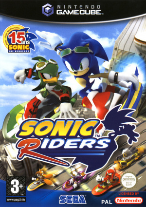 Sonic Riders sur NGC