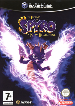 The Legend of Spyro : A New Beginning sur NGC