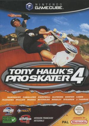 Tony Hawk's Pro Skater 4 sur NGC