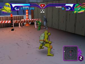 Les Tortues Ninja se lâchent en images