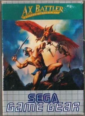Ax Battler : A Legend of Golden Axe sur G.GEAR